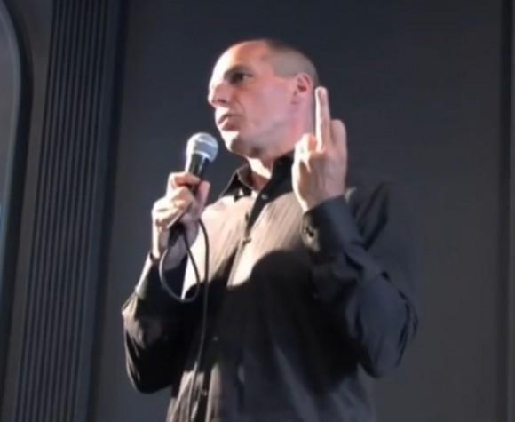 varoufakis finger